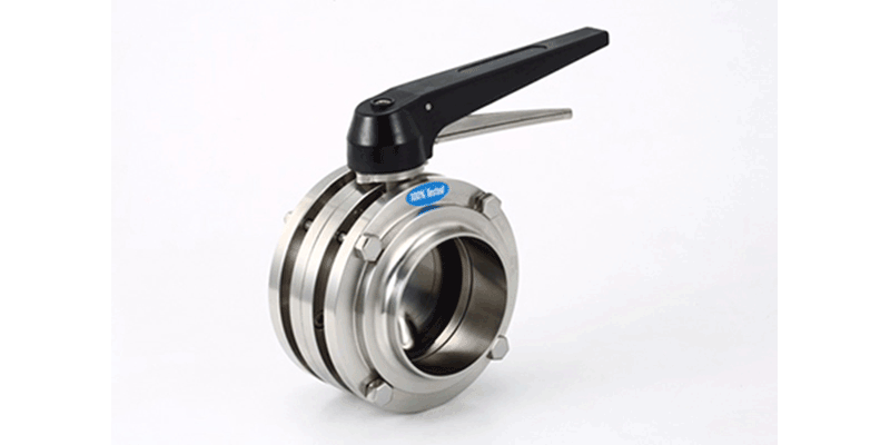 Sanitary Butterfly Valve - Dynamic Equipment - Grapevine (DFW) TX